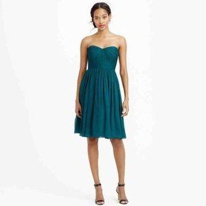 J Crew Jade Green Bridesmaid Dress